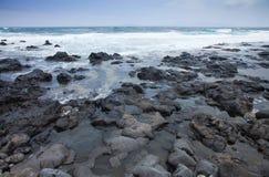 Foaming ocean Royalty Free Stock Photo