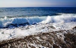 foamy κύματα Στοκ Φωτογραφίες
