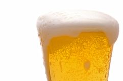 Foamy Beer Royalty Free Stock Images