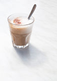 Foamy cappuchino Royalty Free Stock Photos
