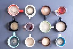 Foamy kofeina Dla całego biura zdjęcie royalty free