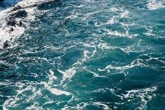 Foamy sea.  Royalty Free Stock Photos
