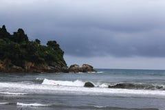 foamy sea waves Stock Image