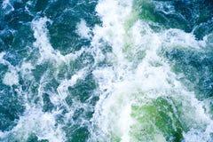 foamy vatten Royaltyfria Bilder