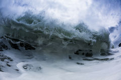 Foamy Wave Stock Photo