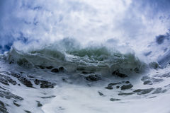 Foamy Wave Royalty Free Stock Photography