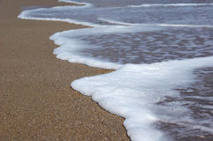 Foamy waves Royalty Free Stock Image