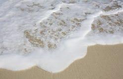 Foamy waves Stock Image