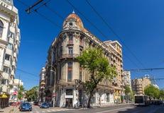 Foarte Mic Theatre in Bucharest Royalty Free Stock Images