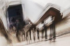 Fobia de escaleras Fotografía de archivo