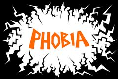 fobie stock illustratie