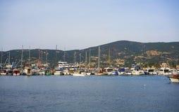 FOCA, Fokaia Izmir, die Türkei stockbilder