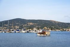 FOCA, Fokaia Izmir, die Türkei stockfotos