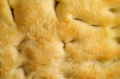 focaccia крупного плана хлеба Стоковая Фотография RF