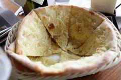 Focaccia с луками и сыром Grana Padano Стоковое Фото