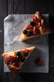 Focaccia Barese Royalty Free Stock Images