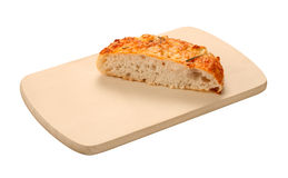 Focaccia Board isolated Royalty Free Stock Photos