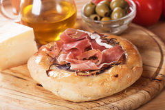 Focaccia bread Royalty Free Stock Images