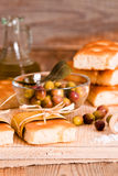 Focaccia bread. Royalty Free Stock Photography
