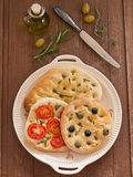 Focaccia Royalty Free Stock Photos