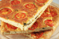 Focaccia bread Royalty Free Stock Photos