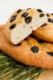 Focaccia-Brot lizenzfreies stockbild