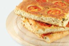Focaccia chleb Obrazy Stock