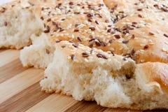 Focaccia del pane italiano immagine stock