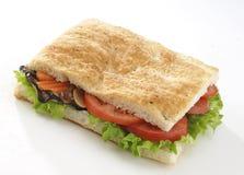 Focaccia do vegetariano fotos de stock