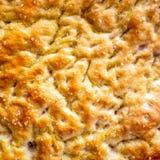Focaccia, especialidade do pão salgado Imagem de Stock Royalty Free