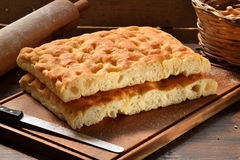 Focaccia Royalty Free Stock Images