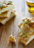 Focaccia genovese Royalty Free Stock Image