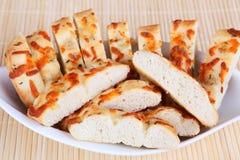 Focaccia. Italian bread in a bowl Stock Photo