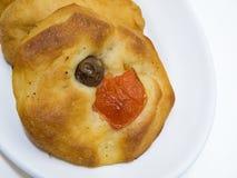 Focaccia. Nourriture italienne. Photos stock