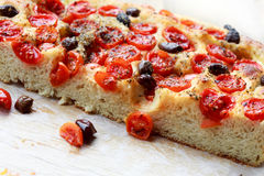Focaccia pugliese Royalty Free Stock Photography