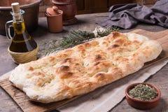 Focaccia romana bread Stock Photography