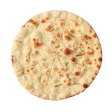 Focaccia with rosemary - top view Stock Photos