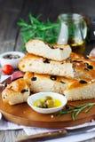Focaccia włoski chleb Obraz Stock