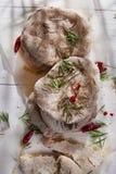 Focaccia wholemeal mąka Obrazy Royalty Free