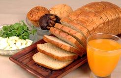 Focaccina del pane Fotografia Stock Libera da Diritti