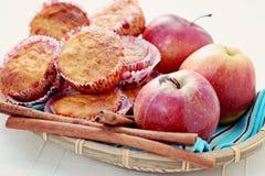 Focaccine al gusto di frutta Fotografia Stock