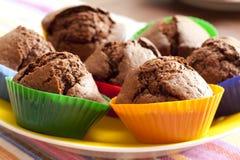 Focaccine del cioccolato Immagini Stock Libere da Diritti