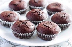Focaccine del cioccolato Immagini Stock