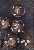 Focaccine del cioccolato Fotografia Stock Libera da Diritti