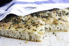 Foccacia面包 免版税库存照片