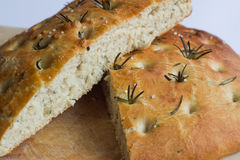 foccacia ιταλικά ψωμιού Στοκ Φωτογραφία