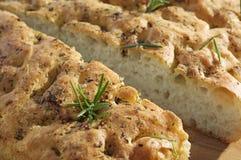 foccacia ψωμιού Στοκ εικόνες με δικαίωμα ελεύθερης χρήσης