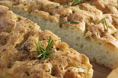 foccacia хлеба Стоковые Изображения RF