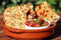 Foccacia Foto de Stock Royalty Free