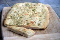 Foccacia Bread Stock Photos